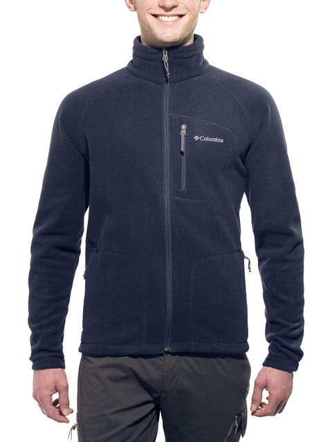 Columbia M's Fast Trek II Full Zip Fleece Jacket Abyss